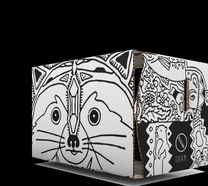 Personalisiertes Cardboard