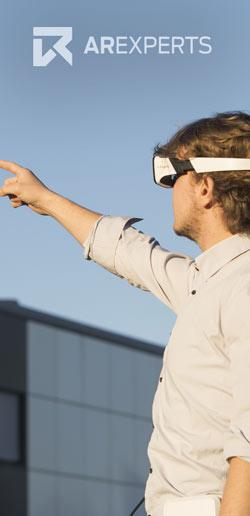 VR Brillen mit Werbespruch