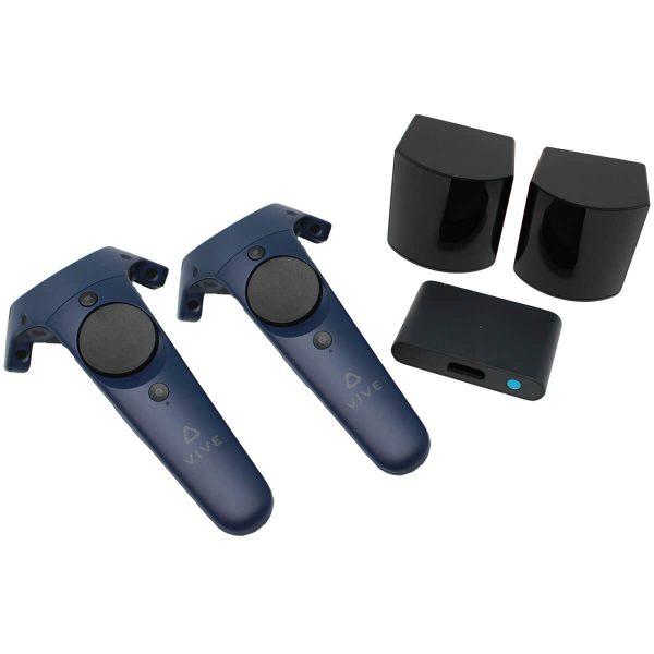 HTC Vive Pro Controller und Basisstationen