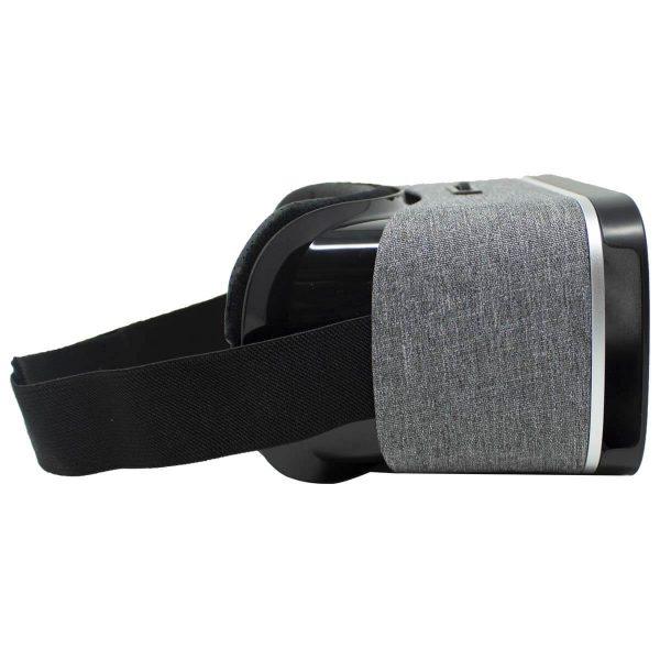 Grey Owl VR-Brille an der Seite
