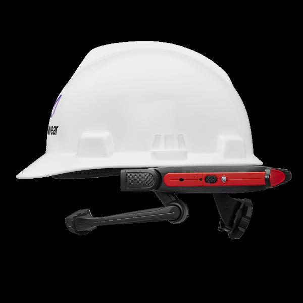 VR Expert RealWear HMT-1 mit Schutzhelm