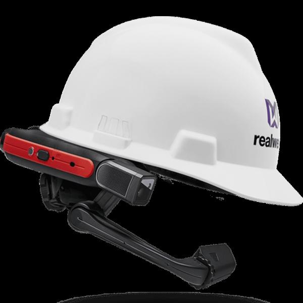 VR Expert RealWear HMT-1Z1 Mit Schutzhelm