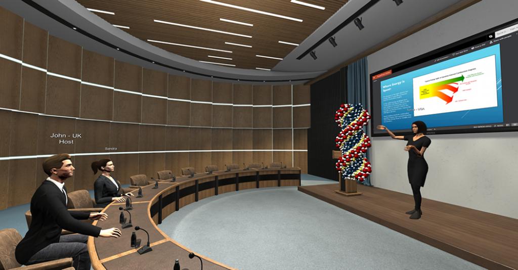 Verwenden von Engage für Virtual Meetings für Unternehmen