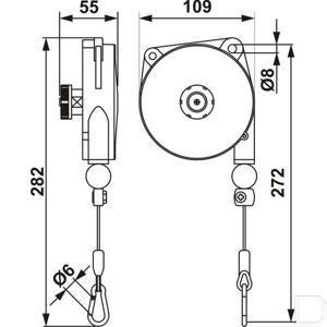 TitanSkinVR Retractable system schematic